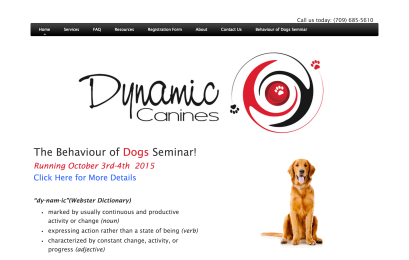 Dynamic Canines